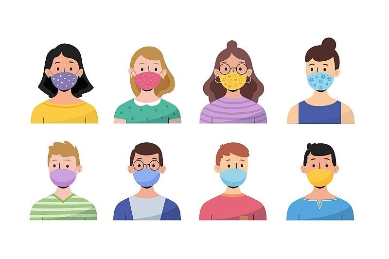 Jak správně nosit roušku a respirátor