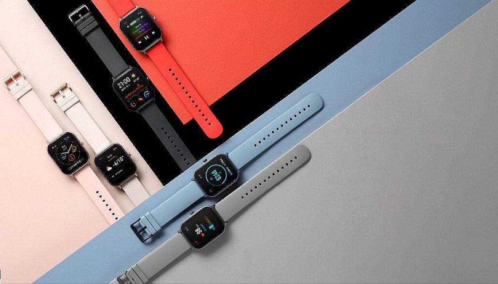 6 barevných provedení Xiaomi Amazfit GTS