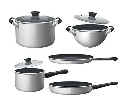 Jaké nádobí lze používat na varné desce