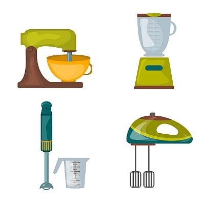 Druhy kuchyňských robotů